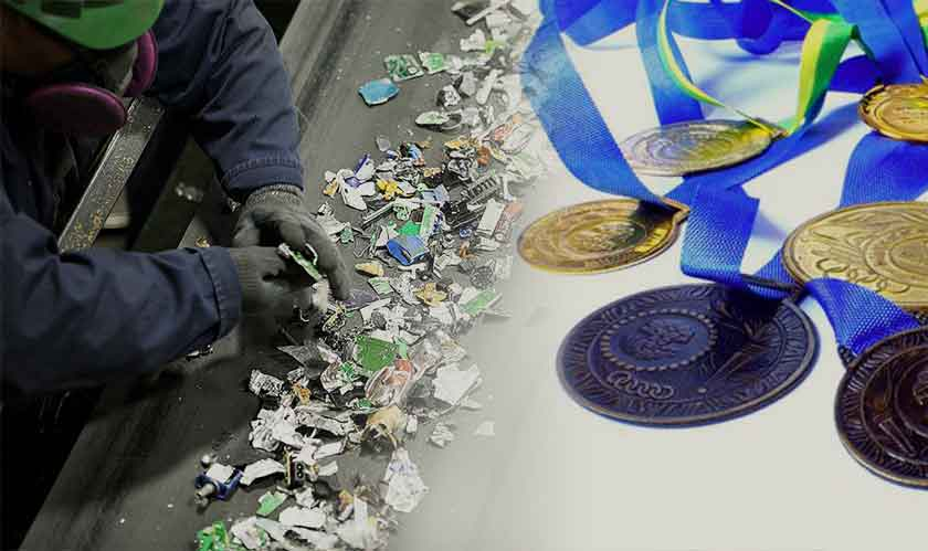 Tokyo 2020 Olympic medals are made from discarded smartphones