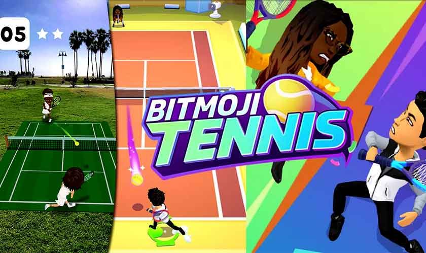 Tennis fans can now feast on Snapchat's new game!
