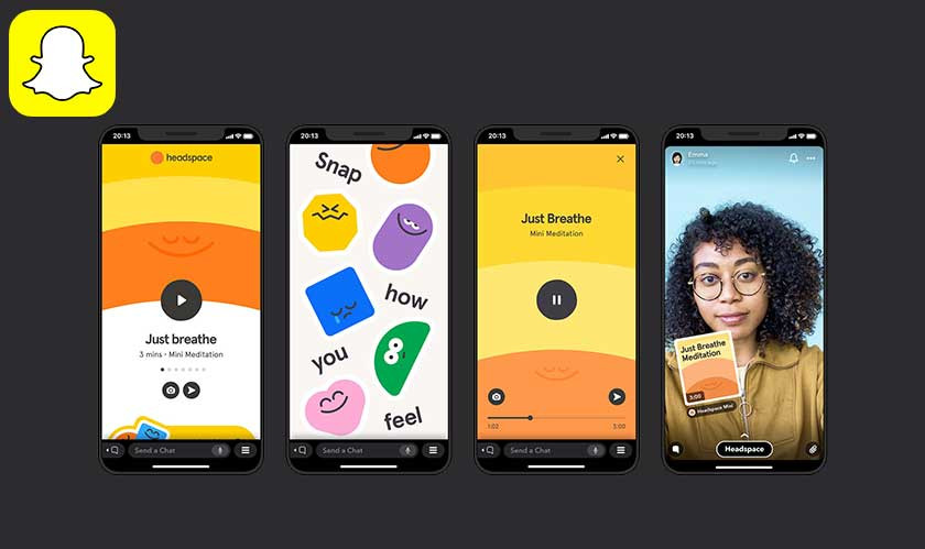 "Snapchat starts rolling out mini-apps inside its app called ""Snap Minis"""
