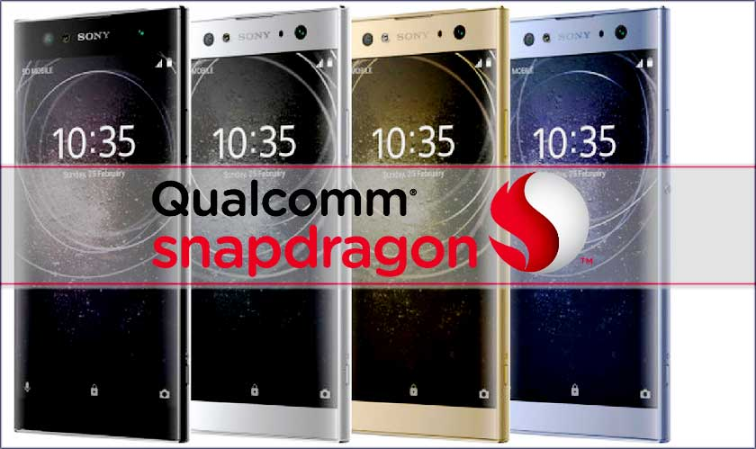 Snapdragon processors for Sony's mid-range phones