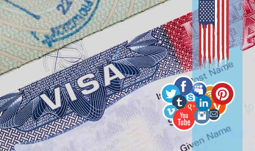 Need US visa? Share your social media profiles