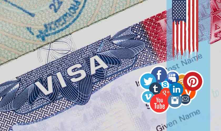 social media for us visa