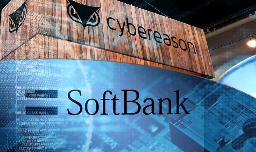 cyber security softbank cybereason raises funds