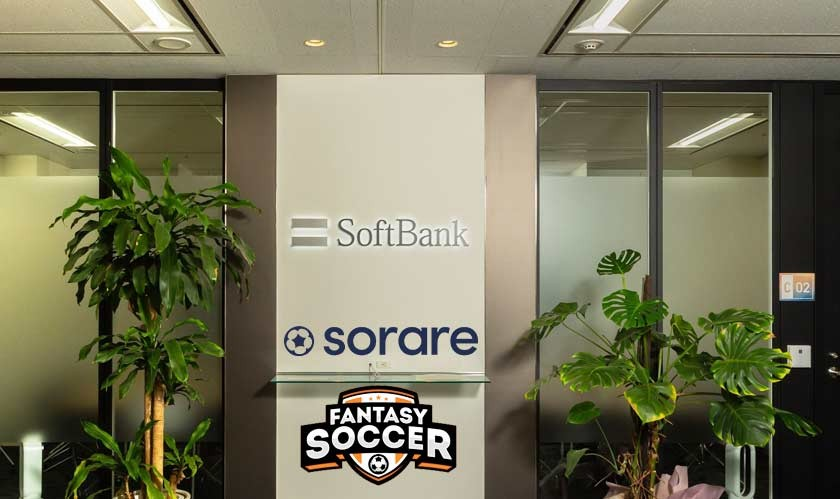 NFT based soccer fantasy game Sorare secures $680 million in a funding round led by SoftBank