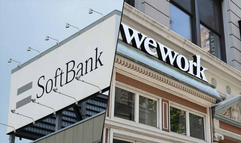 softbank not buying wework shares