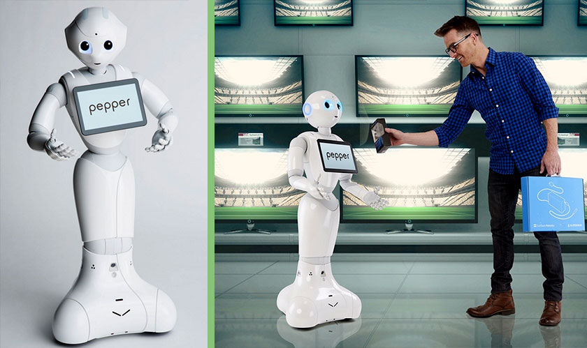 SoftBank's Pepper Humanoid Robot is now at the Smithsonian
