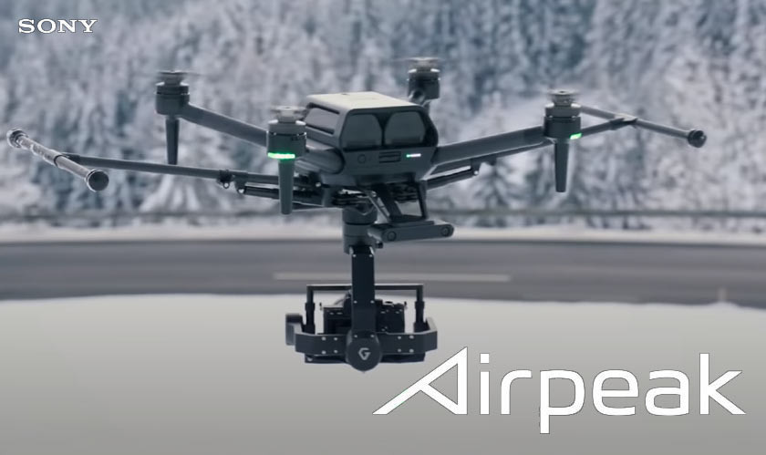 Sony Unveils Its Airpeak Drone At CES For Professional Video Production