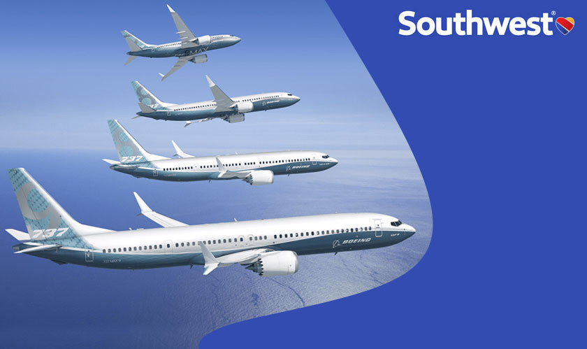 Southwest Airlines has ordered 100 of Boeing's 737 Max Planes