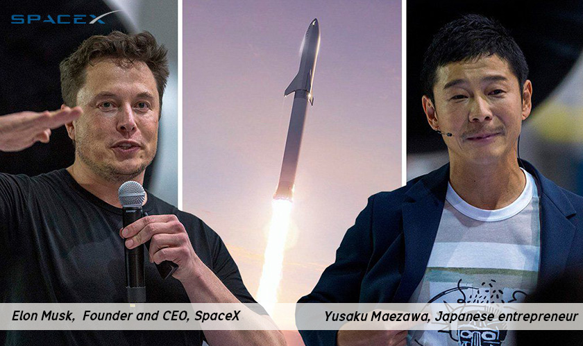 I choose to go to the Moon, with artists, says Maezawa at SpaceX