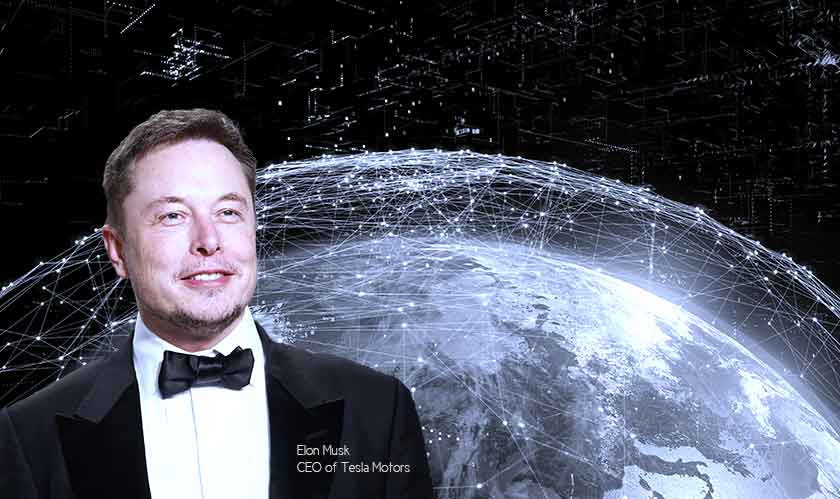 By 2022 SpaceX's satellite-based internet to go global