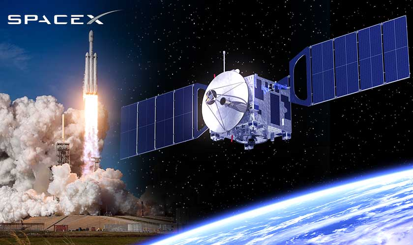 SpaceX packs internet-beaming satellites ready for launch