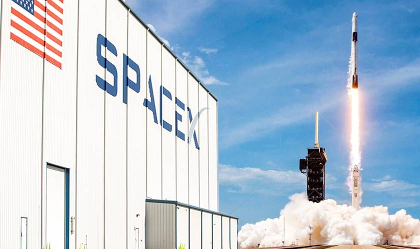 SpaceX to launch its first all-civilian mission today