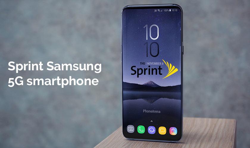 sprint samsung 5g smartphone