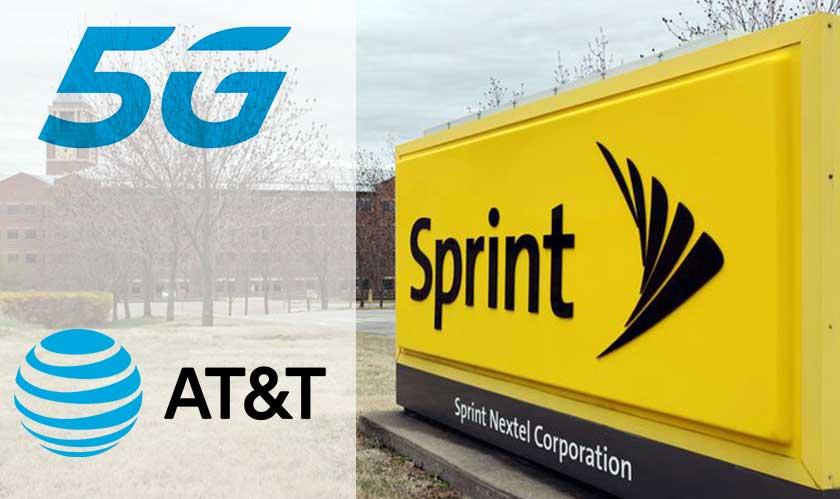 sprint sues att over 5g