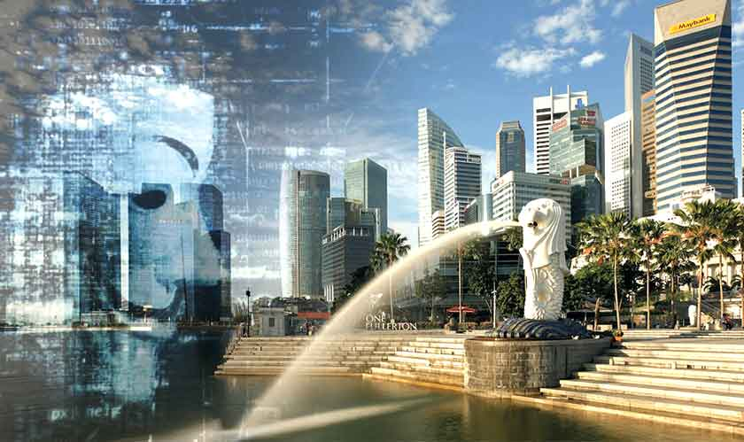 state sponsored singapore cyber attack