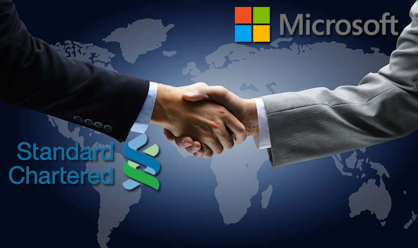 Standard Chartered Bank Partners With Microsoft for Digital Transformation