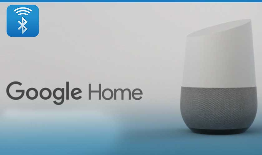 Stream music on Bluetooth Speaker via Google Home