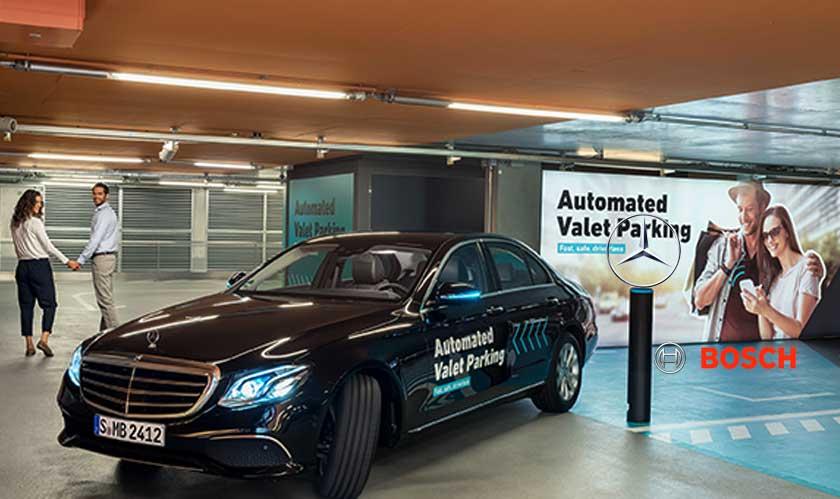 Stuttgart's Mercedes-Benz Museum just got a new driverless parking garage
