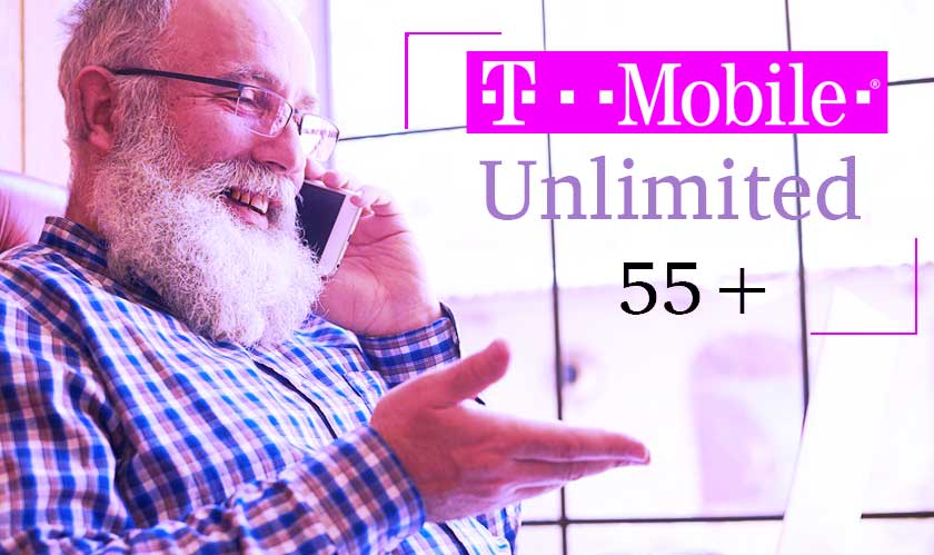 T-Mobile launches Unlimited 55+; a data plan for the elderly