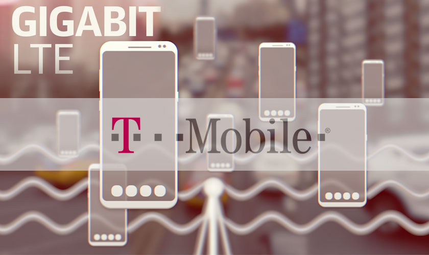 T-Mobile Pushes Forward with Gigabit LTE Technology