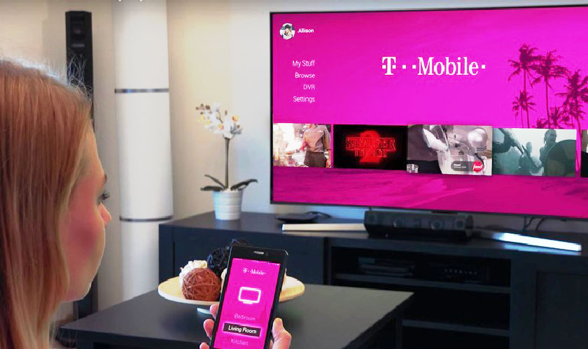 T-Mobile starts its own Cable TV