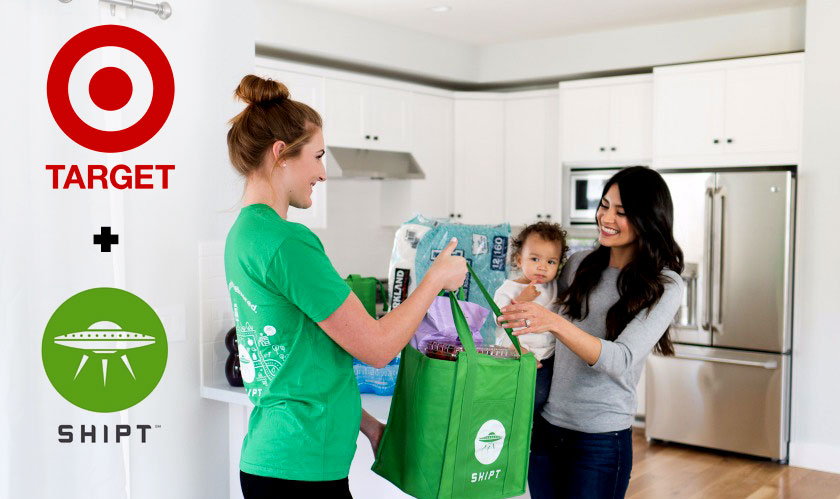 Target acquires Shipt for one-day deliveries
