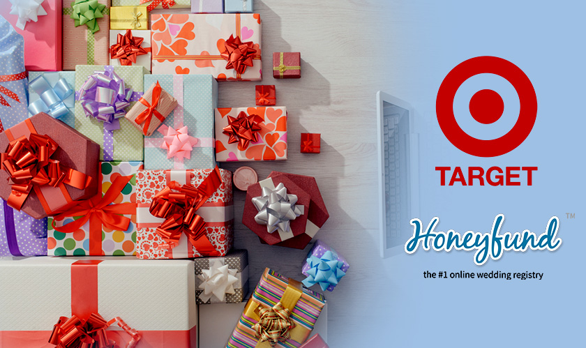 Target and Honeyfund partner for Cash Gifts in Wedding Registry