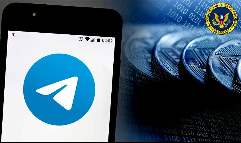 telegram cryptocurrency sec