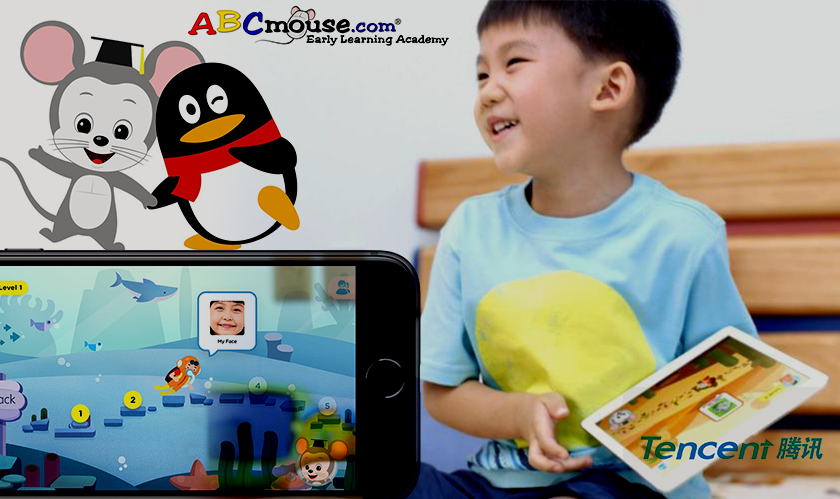 Tencent and Age of Learning launch ABCmouse in China