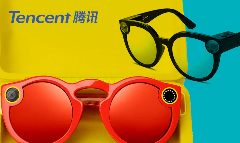 Remember Snap's Spectacles? Tencent released similar ones