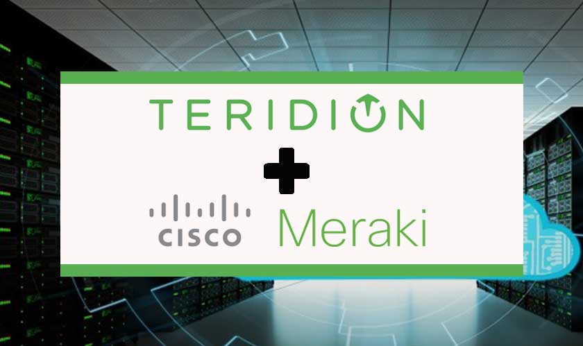 Teridion's WAN service is integrating with Cisco Meraki's technology