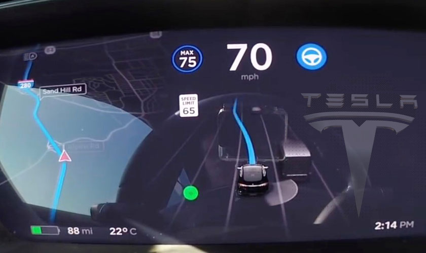 tesla launches version 9 software