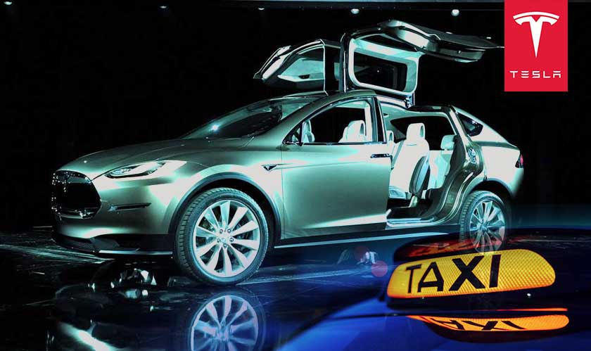 tesla plans for robotic taxis