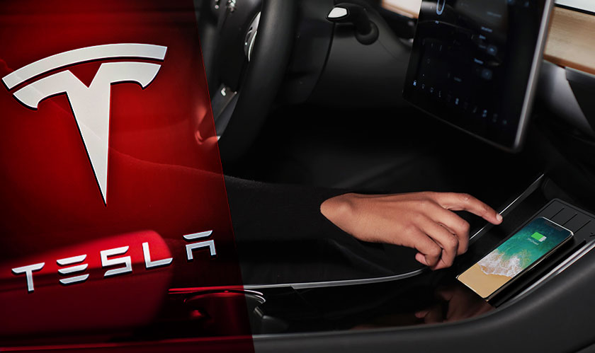 Charge your phones on the new Tesla wireless charger
