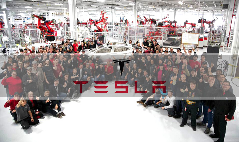 Tesla sacks hundreds of employees