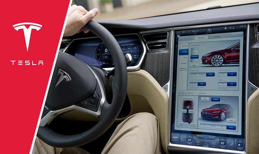 Tesla releases a major software update for its cars