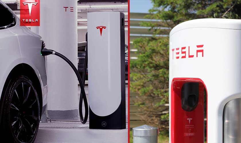tesla upgrades supercharger
