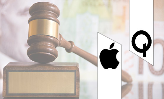 The Apple and Qualcomm battle takes a new turn: Qualcomm countersues Apple.