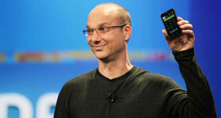 The father of Android, Andy Rubin launches Essential Phone
