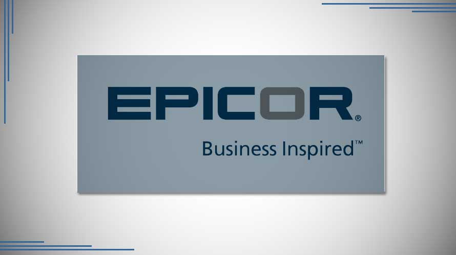 The latest version of ERP from Epicor