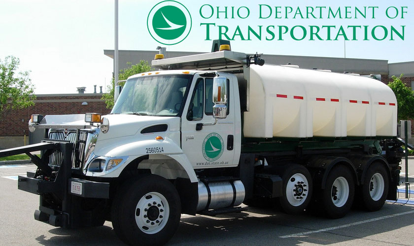 The Ohio Department of Transportation will hand contracts to two companies