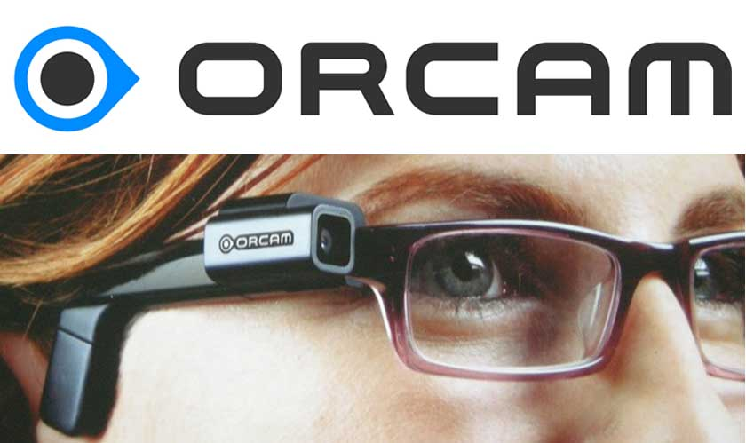 the orcam myeye gives you the power to see