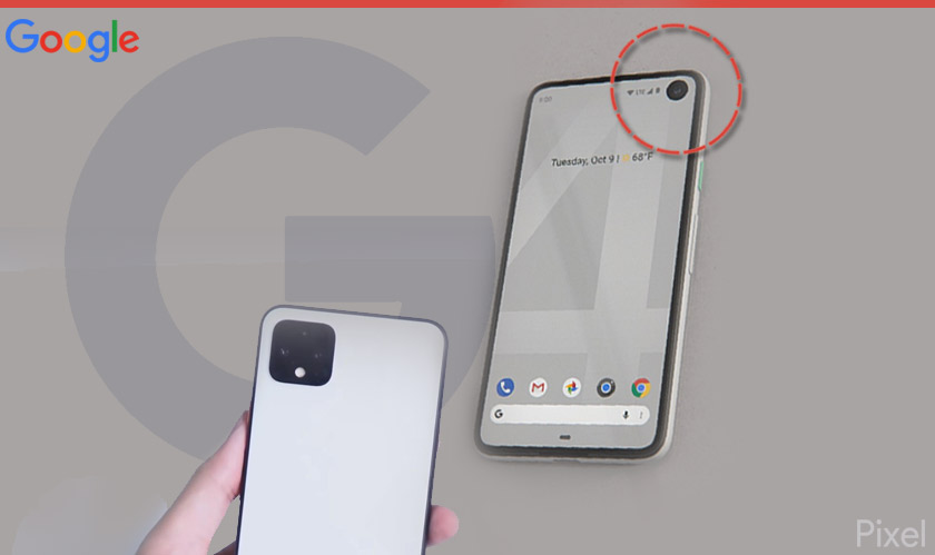 The Pixel 4a may have a hole-punch camera