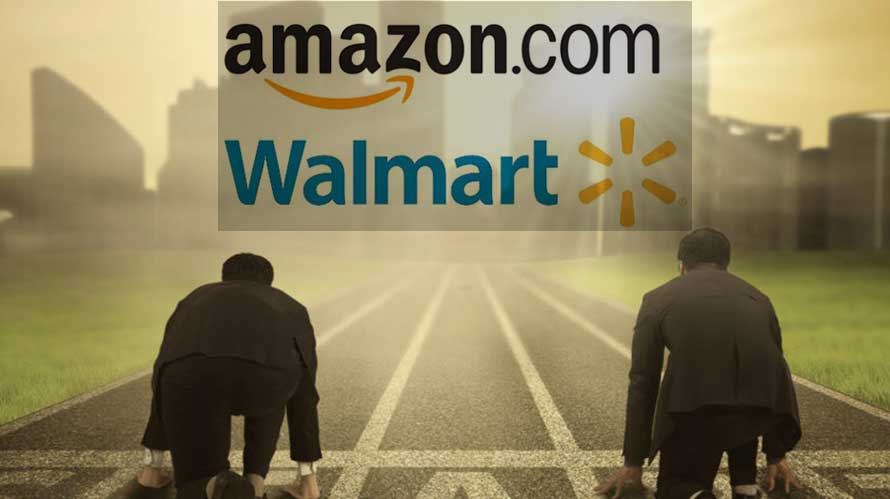 Third-Party Sellers Split up between Amazon and Wal-Mart