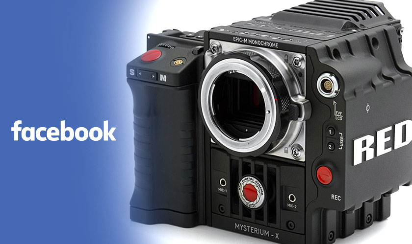 3D VR video recording camera from Facebook and RED