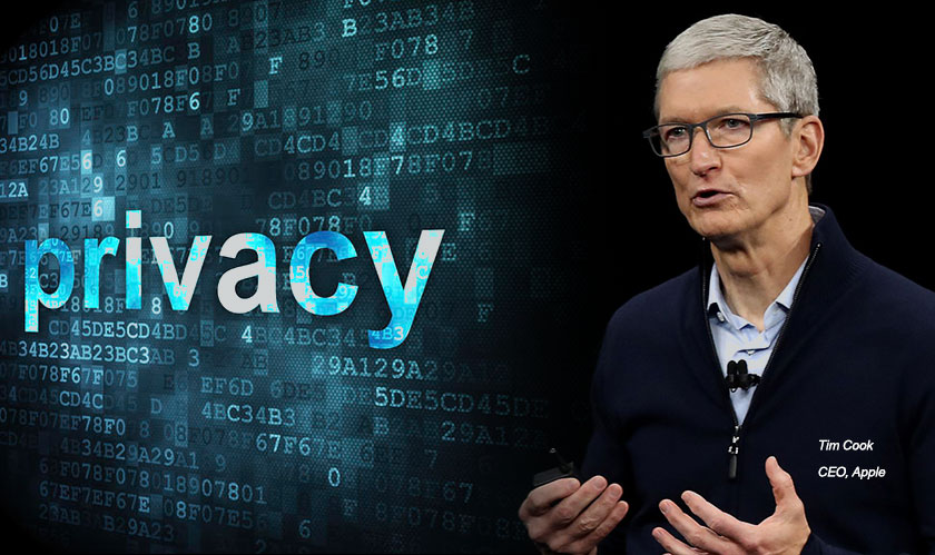 """Customer is a Jewel and Privacy a Human Right,"" Tim Cook, CEO of Apple"