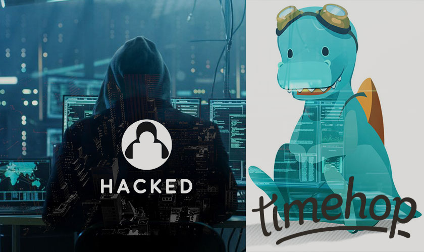 Timehop app was hacked leading to revelation of users sensitive information