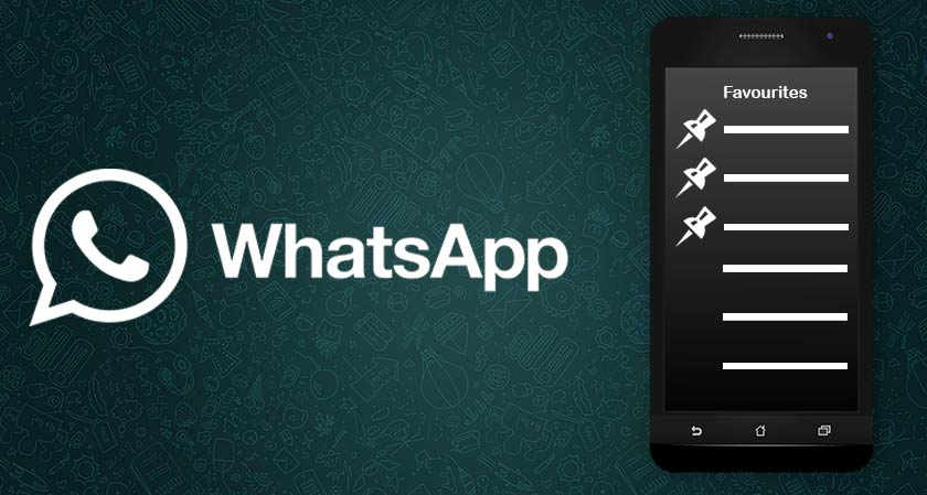 Tired of scrolling down to find your favorite chats in WhatsApp?