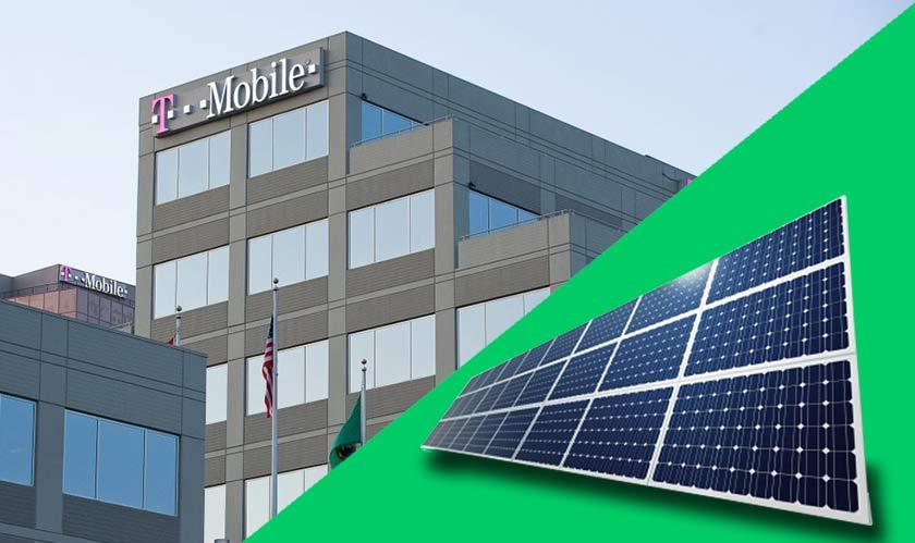tmobile hq goes green