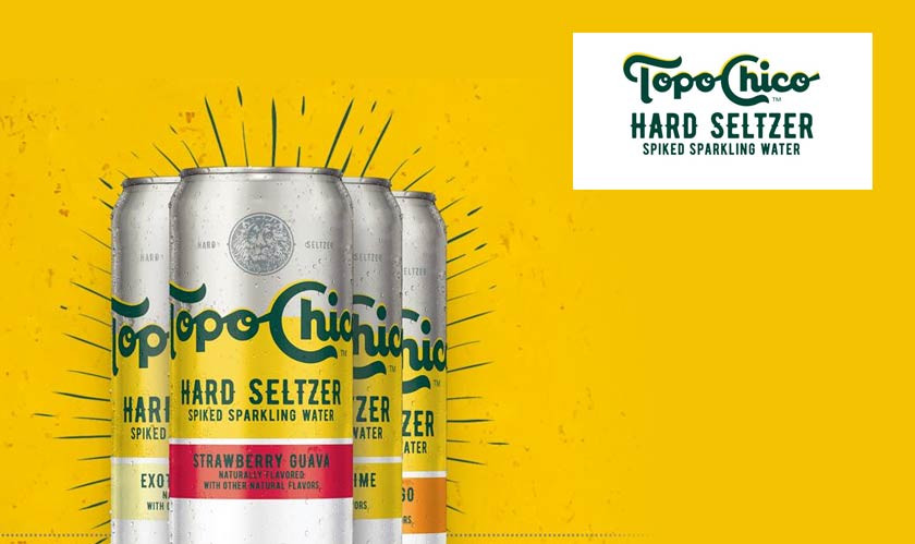 Topo Chico's Hard Seltzers Coming to Nine States on March 29